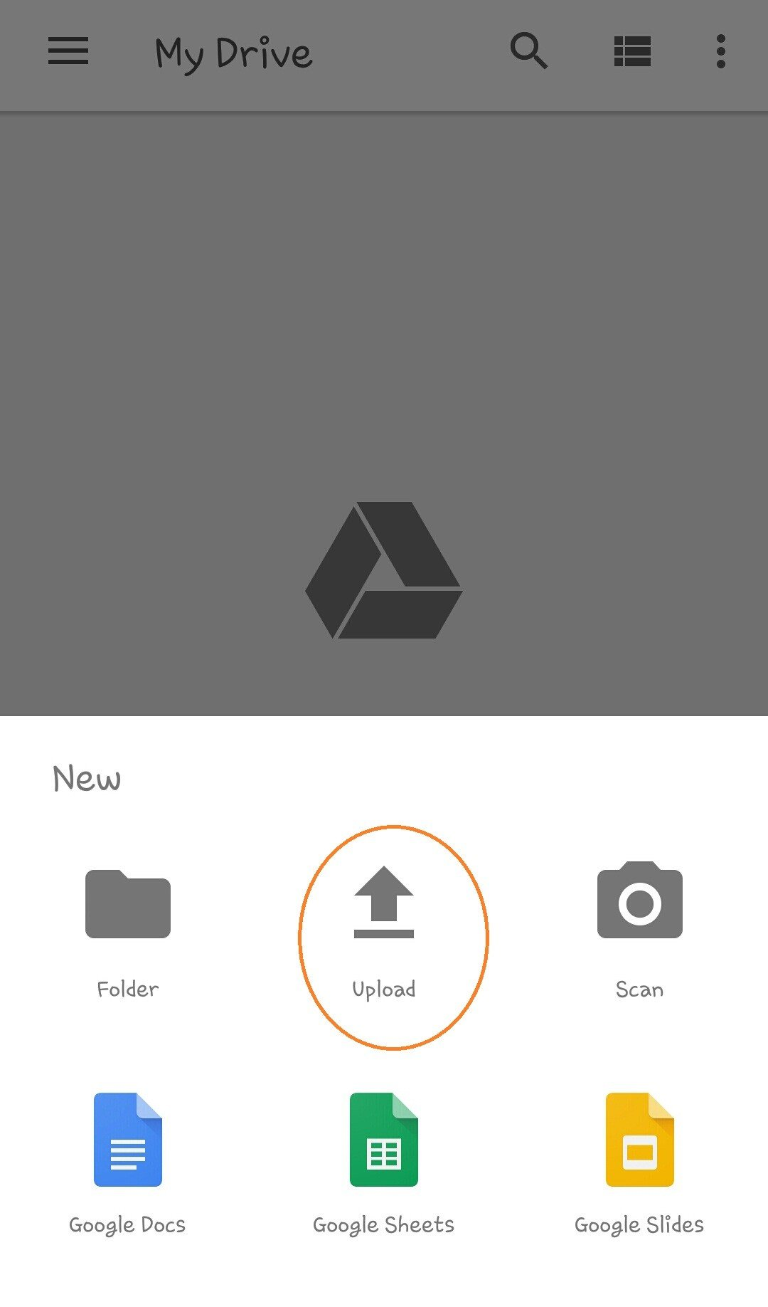 Create Shareable link in Google Drive Snap 2