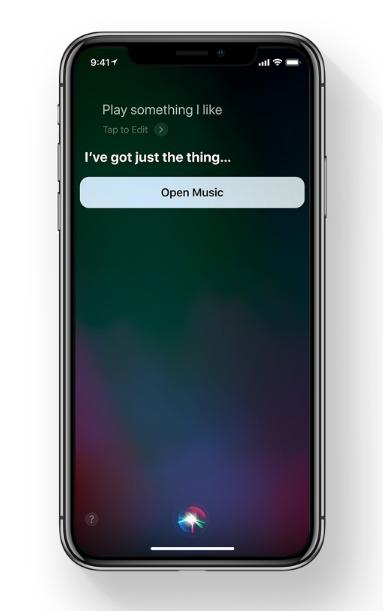 iOS 11 Siri outlook