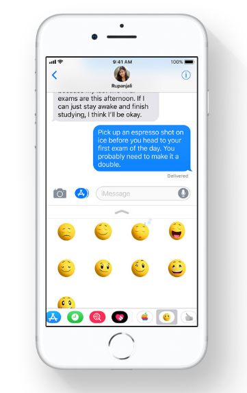 ios 11 messages
