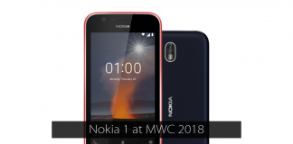 nokia 1 launched at mwc 2018