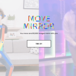 Create Pose Estimation by Google Move Mirror Experiment