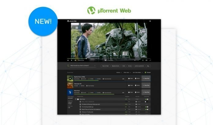 BitTorrent Introduces Browser Based Torrenting Via uTorrent Web