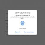 Chrome 70 Beta brings Fingerprint Authentication