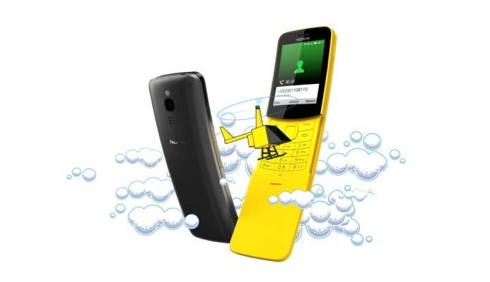 Nokia 8110 4G Matrix Phone