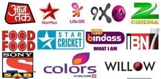 Free to Air Hindi Channels 2019