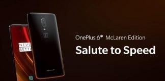 OnePlus officially Unveils 6T McLaren Edition