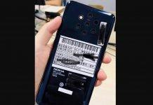 Nokia 9 Assembles 5 Rear Cameras