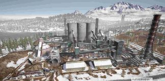 PUBG Vikendi Cement Factory