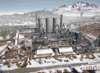 PUBG Vikendi Cement Factory
