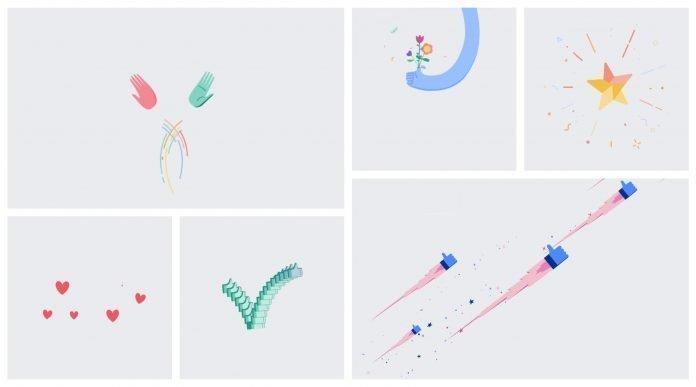 Facebook Text Delight Animation List
