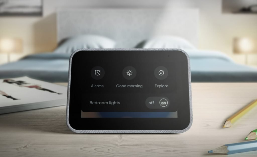 Lenovo Smart Clock Powered by Google Assistant