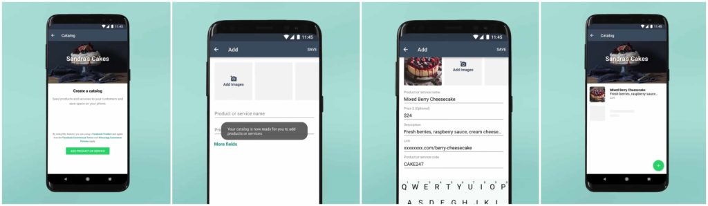 Creating Catalogs on WhatsApp Business App
